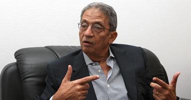 """عمرو موسى أستبعد اغتيالى..و""""مرشح"""" يكون"""