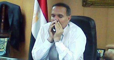 اللواء مصطفى باز مدير أمن الغربية