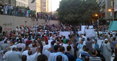 جانب من مظاهرات السفارة الأمريكية