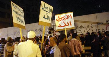 قوات الأمن المركزى تطارد المتظاهرين
