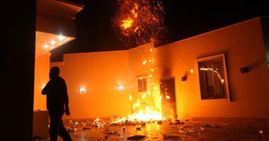 الهجوم على القنصلية الأمريكية ببنغازى