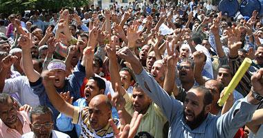 وقفة للمصريين بأمريكا أمام الـCNN