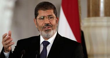 الرئيس مرسى يبعث ببرقية تهنئة للمصريين فى أوروبا  الإثنين، 22 أكتوبر 2012