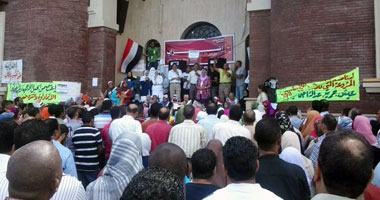 إضراب جامعة الإسكندرية