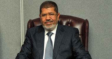 مرسى ينهى زيارته العائلية بالشرقية