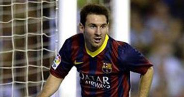 ليونيل ميسى لاعب برشلونة