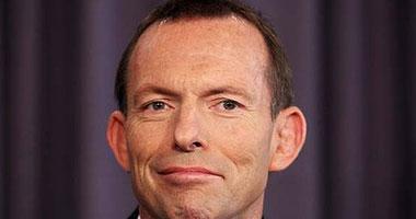 رئيس الوزراء الاسترالى تونى أبوت