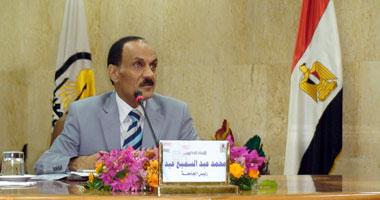 الدكتور محمد عبد السميع رئيس جامعة أسيوط