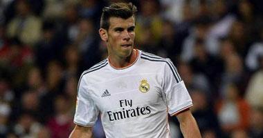 جاريث بيل لاعب ريال مدريد الإسبانى
