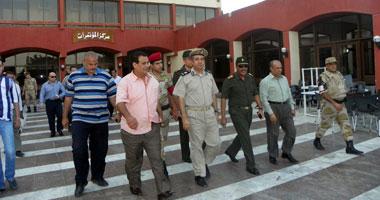 بالفيديو..مدير معهد الحرب الإلكترونية يتفقد الحالة الأمنية بلجان مدينة نصر