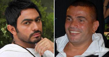 عمرو دياب وتامر حسنى