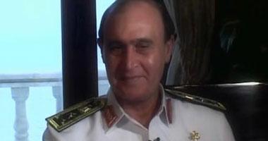 الفريق مهاب مميش قائد القوات البحرية المصرية