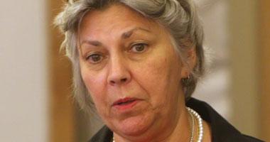 إليزابيث كولتون المستشارة الإعلامية بالسفارة الأمريكية بالقاهرة