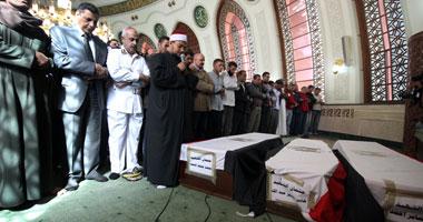 جنازة عسكرية مهيبة لشهداء الحماية