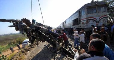 حادث قطار أسيوط