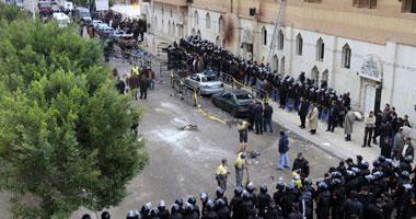 نفجار ضخم أمام كنيسة القديسين بالإسكندرية martyrs of alexandria egypt copts