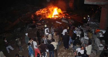 """هجوم بقذائف """"آر بى جى"""" على مقر الأمن المركزى برفح smal1201127143528.jpg"""