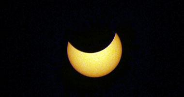 """""""العلوم الفلكية"""": كسوف جزئى للشمس اليوم لن يراه المصريون"""