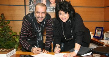محمد سعد يوقع عقد فيلمة الجديد خماشر يوم