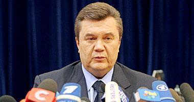 الرئيس الأوكرانى فيكتور يانوكوفيتش