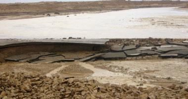 السيول تندفع بقوة من إسرائيل وسط مخاوف من تكرار الأزمة الماضية -  أرشيفية