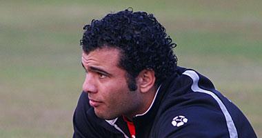 عماد متعب مهاجم النادى الأهلى ومنتخب مصر