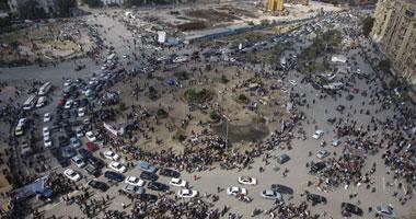 """فى يوم الخميس : امس """"آلاف فى التحرير منذ فجر اليوم وقوات الجيش لتأمين جمعة الوفاء Smal2201113134312"""