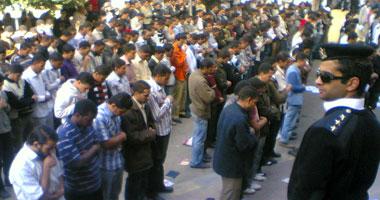 المظاهرات اندلعت بالأزهر للتنديد بالاعتداءات الإسرائيلية على الأقصى