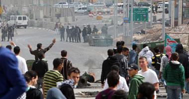 مواجهات بين فلسطينيين وقوات الاحتلال بشعفاط