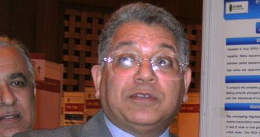 الدكتور جمال شيحة أستاذ أمراض الكبد بجامعة المنصورة
