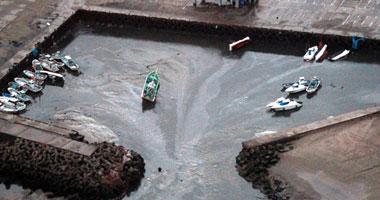 بالفيديو والصور زلزال تسونامي اليابان الاعنف 100
