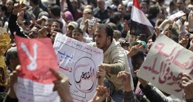 جانب من احتجاجات المصريين المتتالية بميدان التحرير ـ صورة أرشيفية