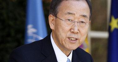 الأمين العام لمنظمة الأمم المتحدة بان كى مون