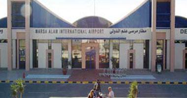 وصول 2400 سائح على متن 17 طائرة إلى مطار مرسى علم