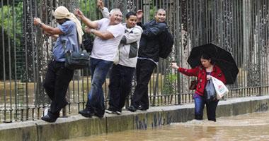 فيضانات عنيفة فى البرازيل