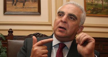 أمين أباظة وزير الزراعة السابق