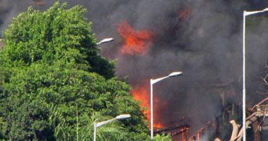 ضبط 3 مزارعين أشعلوا النيران فى 30 طن بطاطس بطوخ
