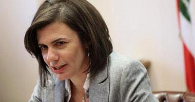 الداخلية اللبنانية: الحكومة هى الجهة المختصة بمعالجة أزمة النزوح السورى
