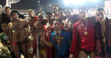 الأهلى يفوز بلقب كأس مصر لناشئ كرة المياه