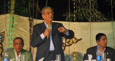 عمرو موسى المرشح لرئاسة الجمهورية