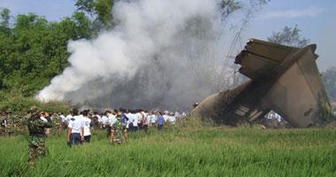 مصرع 7 أشخاص فى تحطم طائرة خاصة بولاية أمريكية
