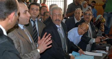 شهدت ثانى جلسات إعادة محاكمة المتهم بقتل هبة ونادين العديد من المفاجآت