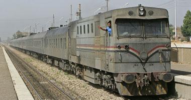 تعطلت حركة القطارات على خط الزقازيق - الإسماعيلية أكثر من نصف  ساعة