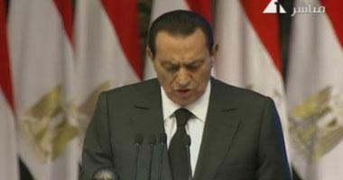 مبارك يشهد الاحتفال بعيد العمال فى قاعة المؤتمرات Smal520106101113