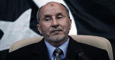 مصطفى عبد الجليل رئيس المجلس الانتقالى الليبى