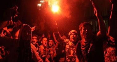 اعتقال 17 مشجعاً أثناء احتفالات أنصار برشلونة بالليجا smal5201112155817.jpg