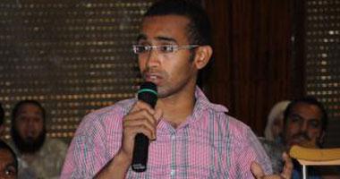 محمد سعد منسق حركة 6 أبريل بالإسماعيلية
