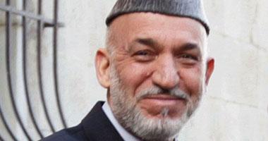 الرئيس الأفغانى حامد كرزاى
