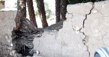 مصرع وإصابة 3 أطفال فى انهيار منزلين بسوهاج