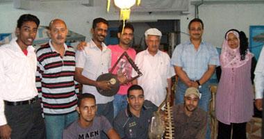 مهرجان بورسعيد للسمسمية على مسرح مكتبة مصر العامة